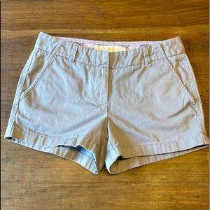 J Crew Chino Short Gray Size 4